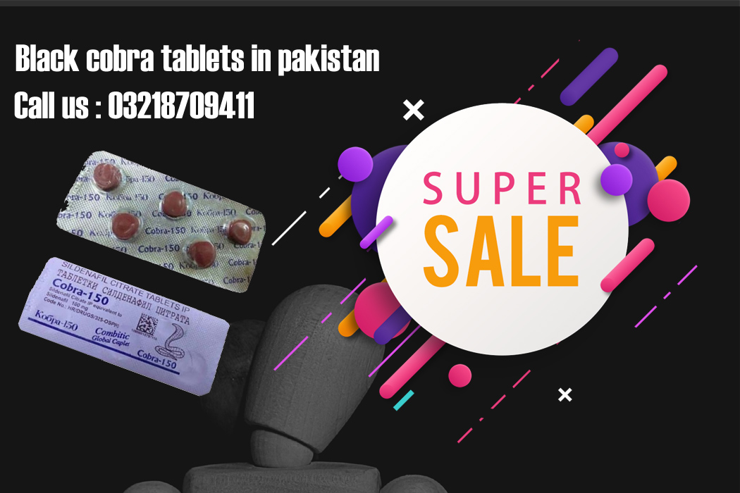 Black Cobra Tablets In Pakistan - buy now Herbalmedicos.pk